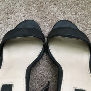Forever 21 Shoes - Faux Saffiano Minimal Ankle Strap Heels Sandals